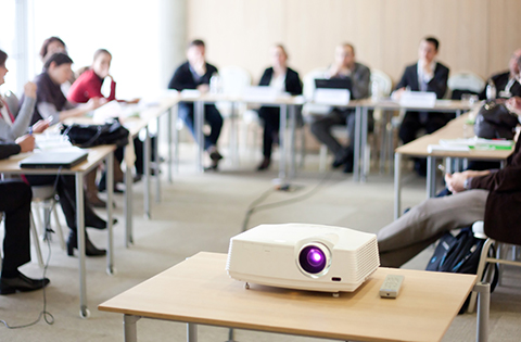 A projector can be used in commercial and residential surroundings | Homeavi